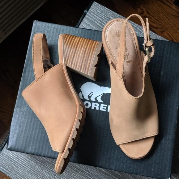 Sorel Womens Nadia Slingback Heel